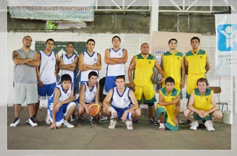 Equipo de Básketbol