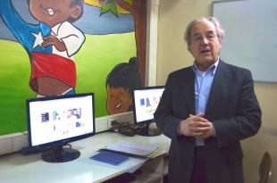 Abelardo Donoso (DN), en la Inauguración.